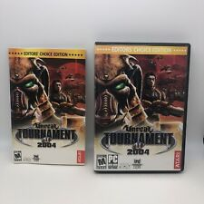 Unreal Tournament 2004 (Editor's Choice Edition) - DVD-ROM - VERY GOOD
