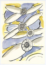 """Fernand Leger print from """"Mes Voyages"""" 33122"""