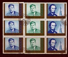 1968 SHARJAH, WORLD PEACE,J F KENNEDY, ABRAHAM LINCOLN,DIFFERENT DENOMINATIONS