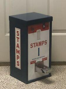 vintage postage stamp vending machine