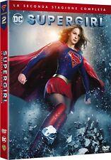 SUPERGIRL - STAGIONE 2 (5 DVD) NUOVO, ITALIANO, ORIGINALE