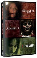 Horror Collection (L'Evocazione - Annabelle - L'Esorcista) DVD NUOVO
