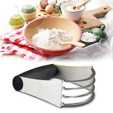 Fox Run Pastry Dough Cutter Blender Mixer Stainless Steel W/ Soft Rubber Grip US