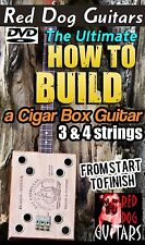 Cigar Box Guitar Build along DVD for your own kit parts & amp, 3 - 4 string neck