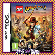 Lego Indiana Jones 2 The Adventure Continues (Nintendo NDS DS lite Dsi XL) BN