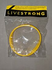 Nike LIVESTRONG bracelet/wristband - ADULT - new & authentic! Cancer awareness!