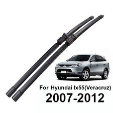 2PCS Front Windshield Wiper Blades Fit For Hyundai Veracruz Ix55 2007-2012
