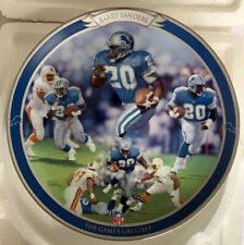 Detroit Lions Barry Sanders The Games Greatest Bradford Exchange Collector Plate