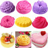 Silicone Muffin Mold Loaf Pan Cup Cake Mould Tray Home Baking Bakeware Non-Stick