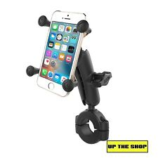"1 1/8"" - 1 1/2"" Ram Handlebar bar mount X-Grip holder suit Phone, Motorcycle"