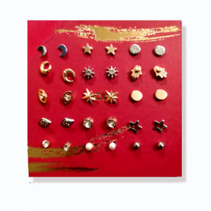 Avon Georgia Earring Gift Set - 15 pairs New for Christmas 2021 Assorted Shapes