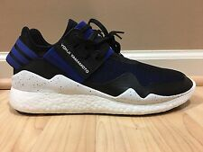 NEW MENS Y-3 ADIDAS 'RETRO BOOST' HIGH TOP SNEAKERS SHOES US 9.5 100% AUTHENTIC