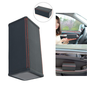 Universal Car Door Side Elbow Support Armrest Organizer Holder ABS plastic Black
