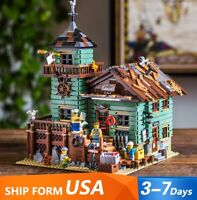 2049PCS Ideas Creator Series Old Fishing Store Building Blocks Toys 21310