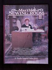 Martha's Sewing Room Program Guide for Public TV Series SIGNED