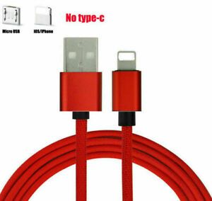 1M 2M 3M USB Cable Android iOS Type-C Fast Charging For Phone X 11 Pro Huawei