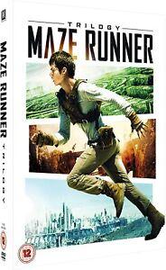 Maze Runner 1-3 Boxset New DVD Box Set