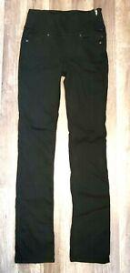 Spanx FD2114 The Signature Straight Jeans Size sz 26 Black NWOT