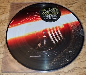 STAR WARS: THE FORCE AWAKENS OST (2) LP VINYL PICTURE DISC - JOHN WILLIAMS new