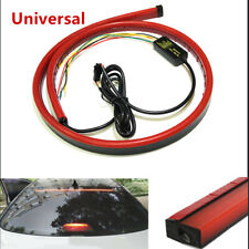"""1*Red LED Rear Windshield High Mount 3rd 4th Brake Sequential Strip Lights """"Tape"""