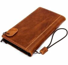 Genuine Retro Leather Hard Case fit Apple iPhone 6 6S Book Wallet Cover Slim ID