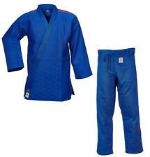 "adidas Judoanzug ""CHAMPION II"" IJF, blau/rote Streifen, JIJFB - Judo-Anzug"