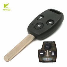3 Button Remote Car Key Fob 433Mhz ID48 for Honda Accord 2003-2005,CRV 2005-2006