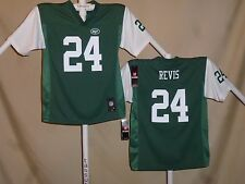 Darrelle Revis  NEW YORK NY JETS  Reebok  JERSEY  Youth Large  NWT  green  ns