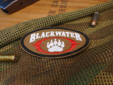 RETRO BLACKWATER SECURITY CONTRACTOR COYOTE BROWN MORALE PATCH