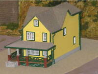 "HO Scale ""A Christmas Story"" House Structure Kit, 82+ components, in stock!"