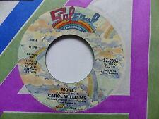 CAROL WILLIAMS More More of more SZ 2006