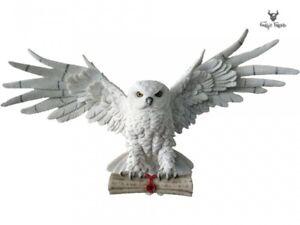 Nemesis Now The Emissary Flying Owl Figurine Sculpture Letter Messenger 49cm Owl