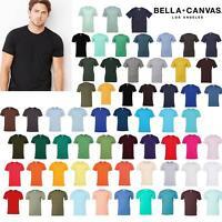 Bella + Canvas Unisex Jersey Crew Neck T-Shirt 3001-Casual Wear Plain Cotton Tee