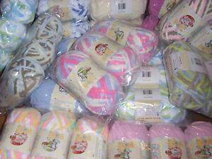 Lot of 3 Skeins Bernat Baby Blanket Yarn, 3.5 oz each**You Choose Color**