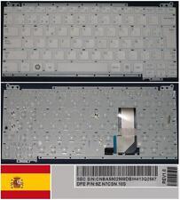 Tastiera Qwerty Spagnola SAMSUNG NC110 BA59-02988D 9Z.N7CSN.10S Serie Bianco