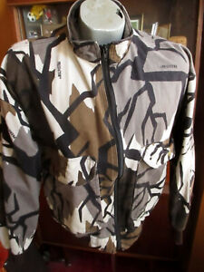SMALL True Vtg 90s USA MADE Cabelas Predator Jacket - Fall Gray Camo