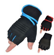 Hand Wrist Palm Thumb Brace Guard Wrap Glove Support Protector Sport Gym Fitness