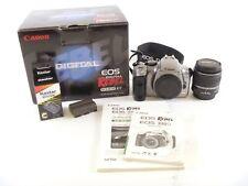 Canon Eos Rebel with Oem Box, 18-55mm Lens, Strap, and other Accessories, in Ec.