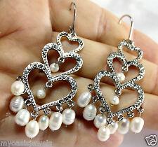 Chandelier Earring Earrings Austrian Crystal Rhinestone Bridal Pageant Prom 2.75