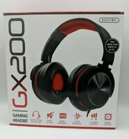 SENTRY  GX200-RED Deluxe Gaming Headset Red Accent
