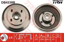 db4338b TRW freno de tambor eje trasero