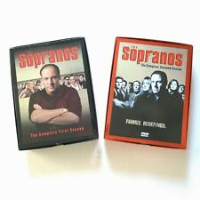 The Sopranos Complete Seasons 1 & 2 DVD Box Sets Pre Owned in Mint Condition