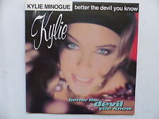 45 Tours KYLIE MINOGUE Better the devil you know 656009