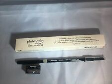Philosophy Divine, perfectly defined brow pencil, shade blonde, with sharpener