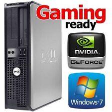 DELL 755 CORE 2 DUO 3.0GHZ WINDOWS 7 WIRELESS HDMI GAMING DESKTOP 8GB RAM 1TB PC