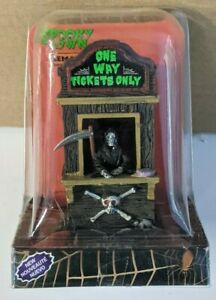 LEMAX SPOOKY TOWN COLLECTION 2014 ONE WAY TICKETS