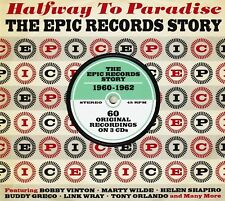 HALFWAY TO PARADISE (TONY ORLANDO, ROY HAMILTON, BOBBY VINTON, ...) 3 CD NEW+