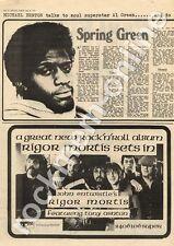 Rigor Mortis Sets In John Entwistle Tony Ashton The Who MM3 LP advert 1973