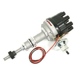 PerTronix D134600 Flame-Thrower Distributor, Ford SBF 221-302, Black