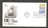 US Scott # 2616 World Columbian Stamp Expo FDC. Artcraft Cachet.